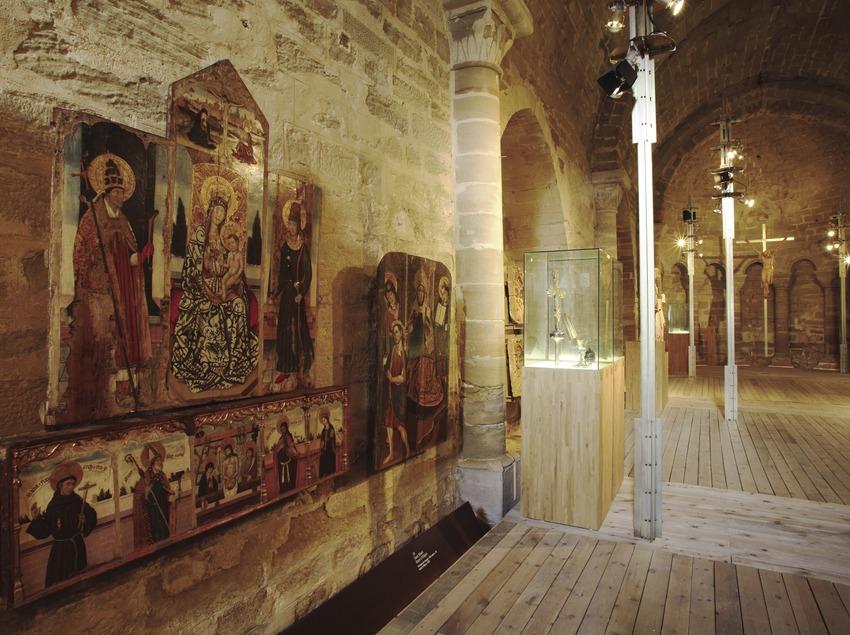 Musée d'art sacré dans l'église Sant Martí.  (Miguel Raurich)