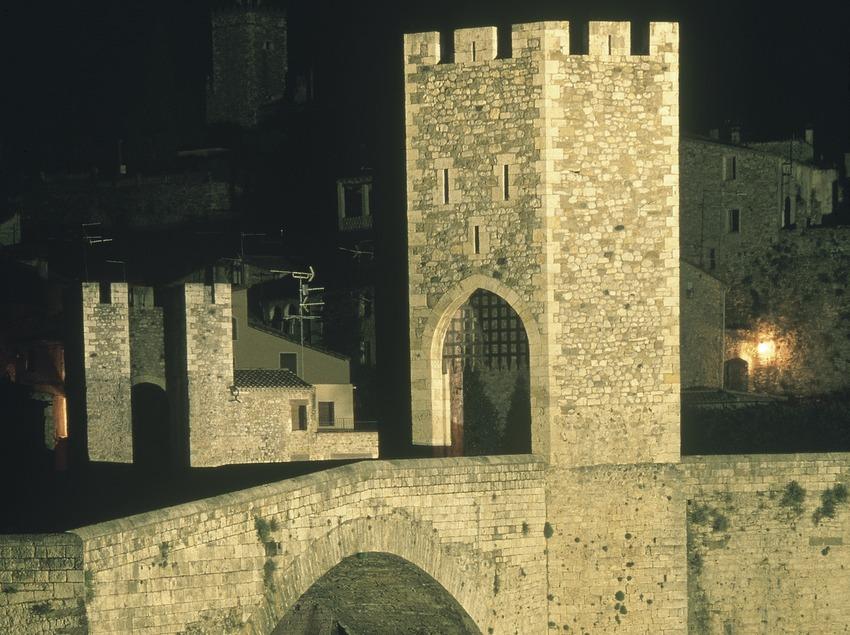 Medieval bridge of Besalú