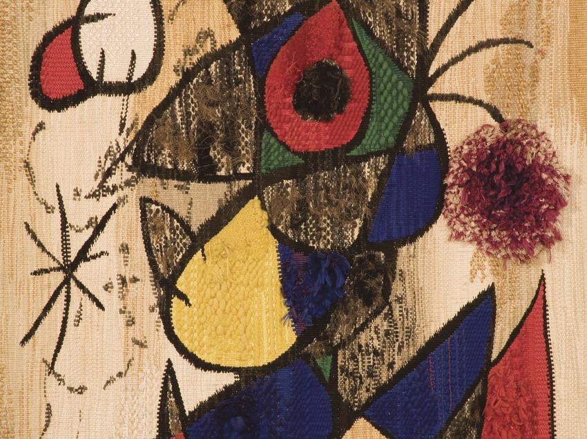 Original canvas by the artist. Miró Centre  (Miguel Raurich)