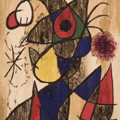 Toile originale de l'artiste. Centre Miró  (Miguel Raurich)