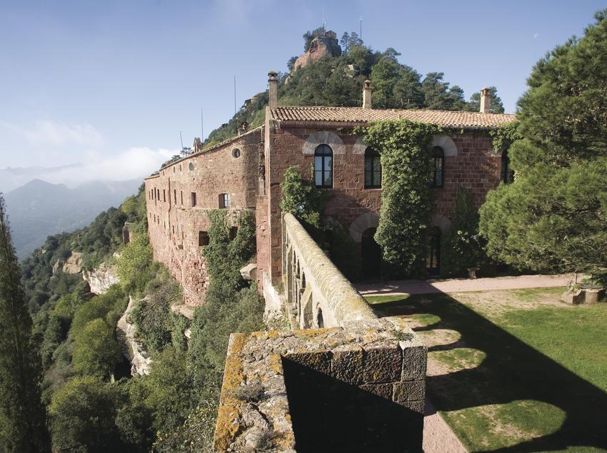 Château monastère Sant Miquel d'Escornalbou