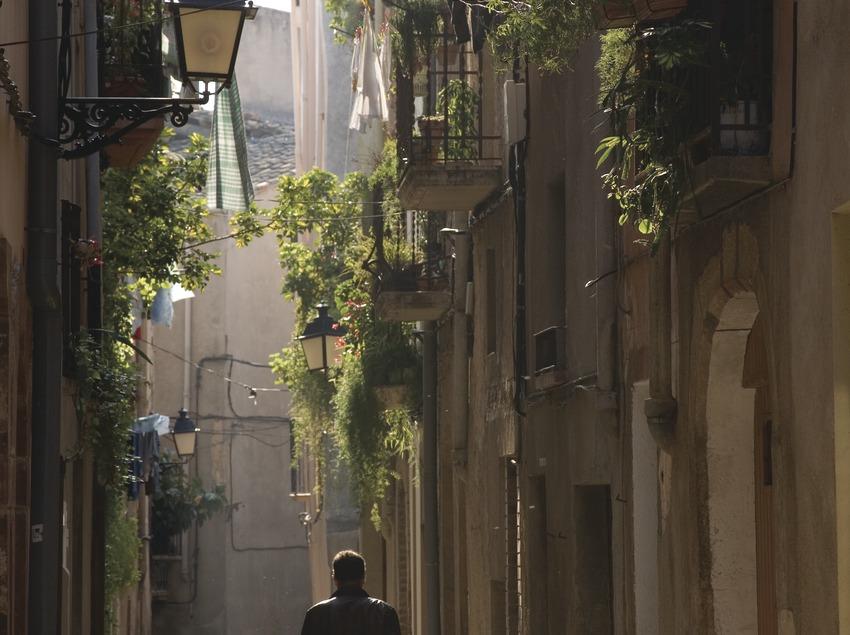 Straße in der Altstadt.  (Miguel Raurich)