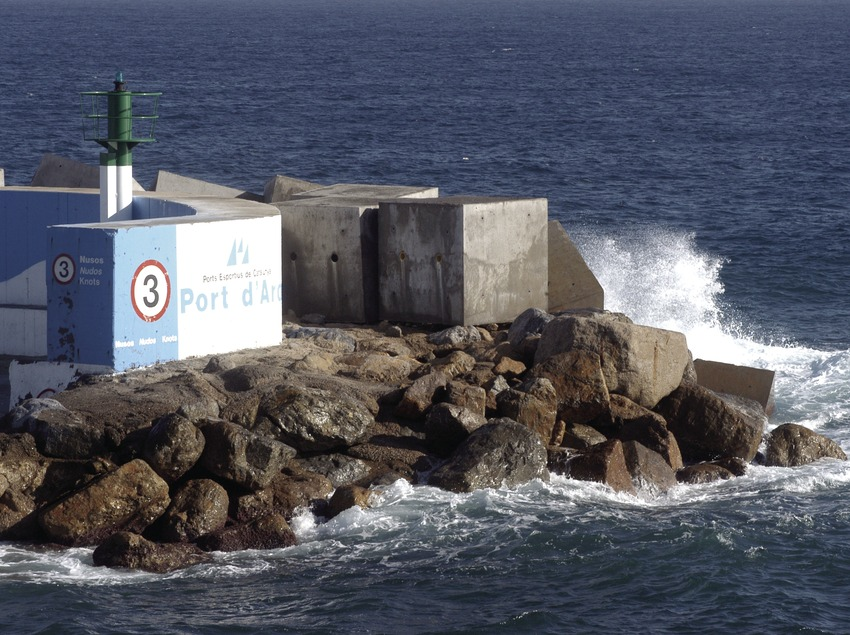 Bocana del Puerto Deportivo de Marina Port d'Aro  (Marc Ripol)
