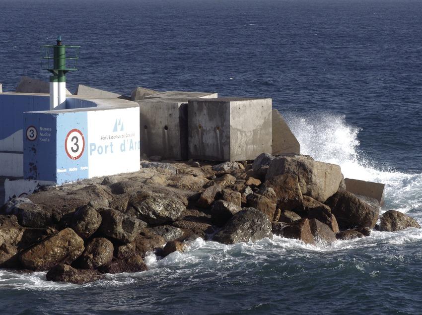 Einfahrt des Sporthafens Marina Port d'Aro  (Marc Ripol)