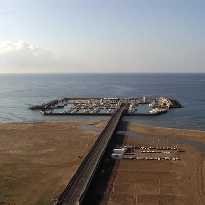 Vista general del puerto deportivo de Coma-Ruga  (Marc Ripol)