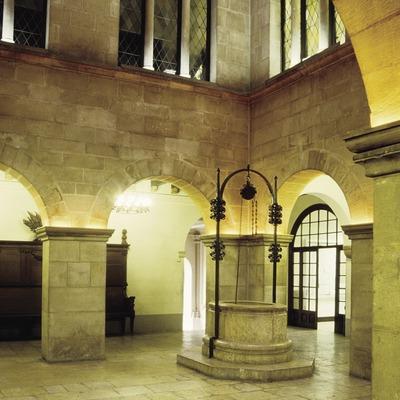 Patio interior del Palau de la Paeria  (Miguel Raurich)