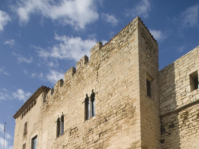 Side façade of the castle.  (Miguel Raurich)