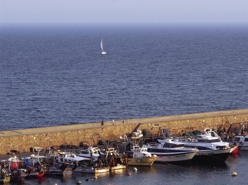 Breakwater in Blanes port  (Marc Ripol)