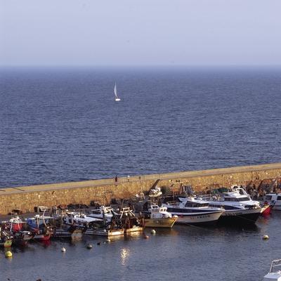 Espigón del puerto de Blanes  (Marc Ripol)