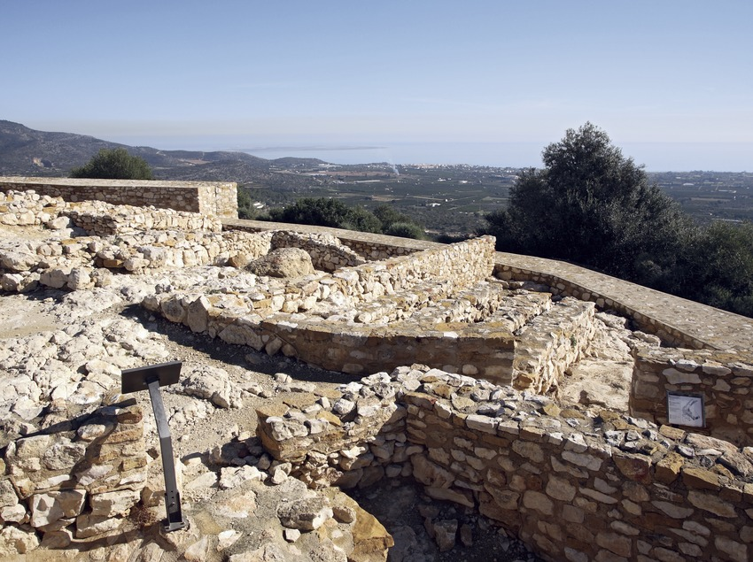 Iberian settlement of La Moleta del Remei.  (Miguel Raurich)