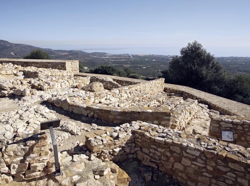 Village ibérique de La Moleta del Remei.  (Miguel Raurich)