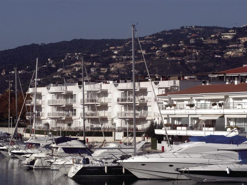 Embarcaciones atracadas en el Puerto Deportivo de Marina Port d'Aro  (Marc Ripol)