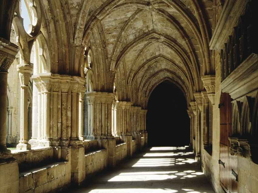 Claustre Reial Monestir de Santa Maria de Poblet  (Miguel Raurich)