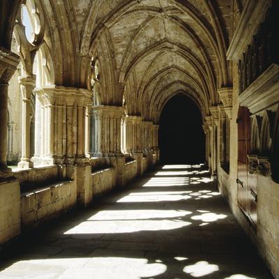 Claustro del Real Monasterio de Santa Maria de Poblet