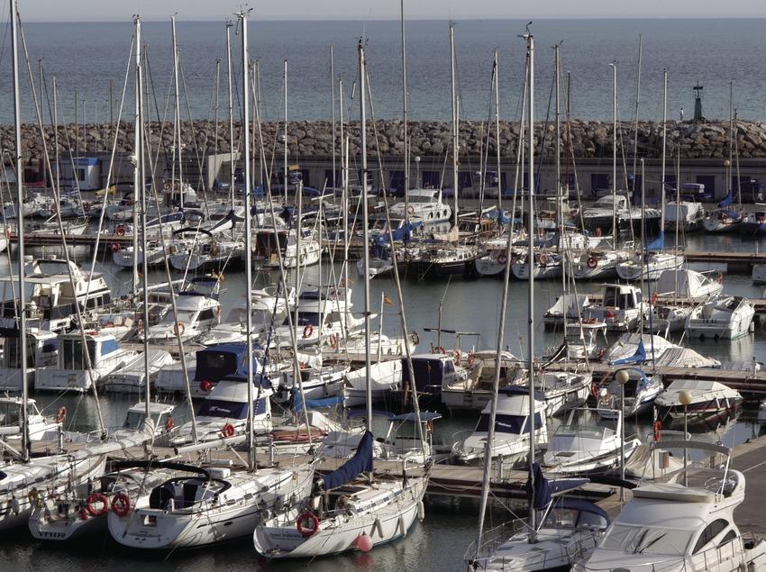 Vista general del Port Esportiu del Garraf  (Marc Ripol)