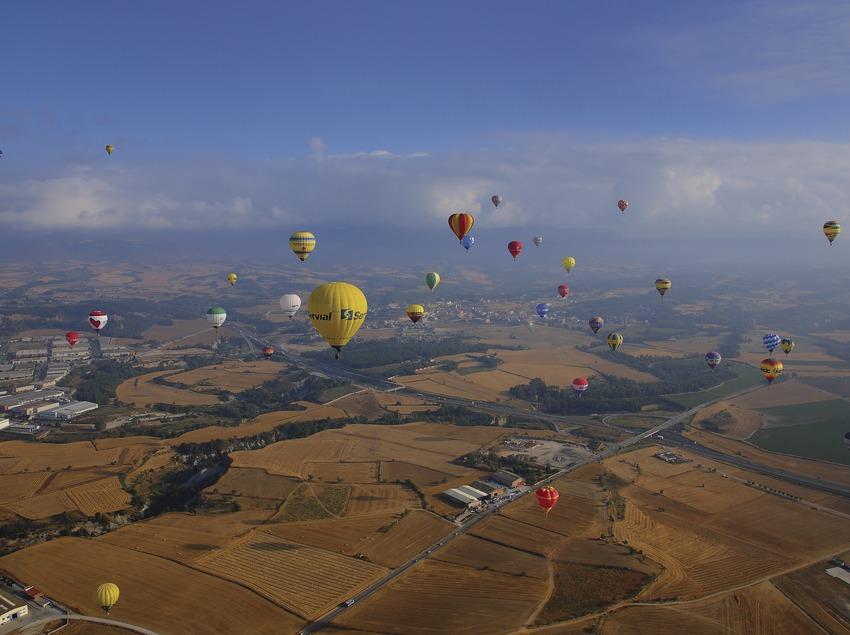 Европейский фестиваль воздушных шаров в Игуаладе (Lluís Carro)