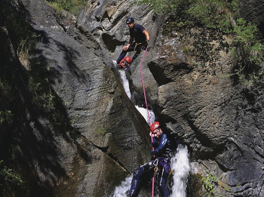 Canyoning à Llavorsí (Lluís Carro)