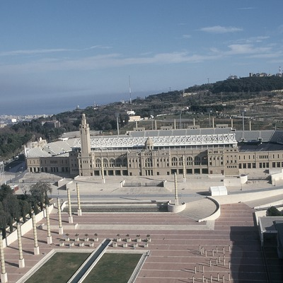 Estadio Olímpico Lluís Companys, Montjuïc.  (Daniel Julián)