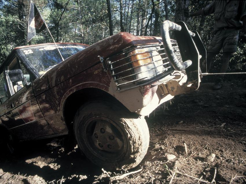Four-wheel drive vehicle.   (Daniel Julián)