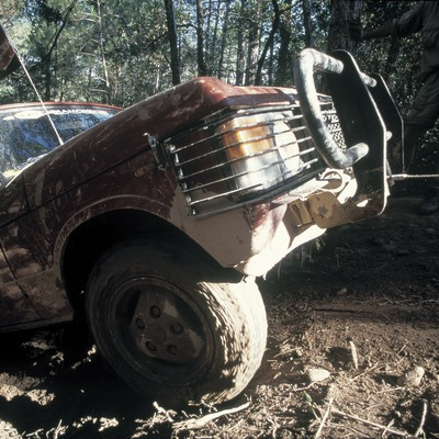Vehicle tot terreny. 4x4.  (Daniel Julián)