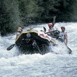 Rafting por la Noguera Pallaresa.  (Daniel Julián)