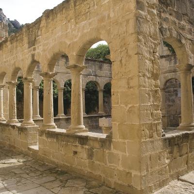 Claustre del santuari de Sant Salvador  (Miguel Raurich)