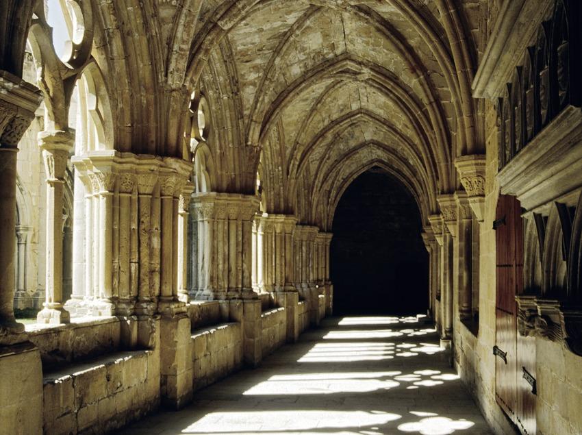 Claustro del Real Monasterio de Santa Maria de Poblet.  (Miguel Raurich)