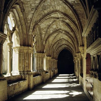 Claustre Reial Monestir de Santa Maria de Poblet.  (Miguel Raurich)