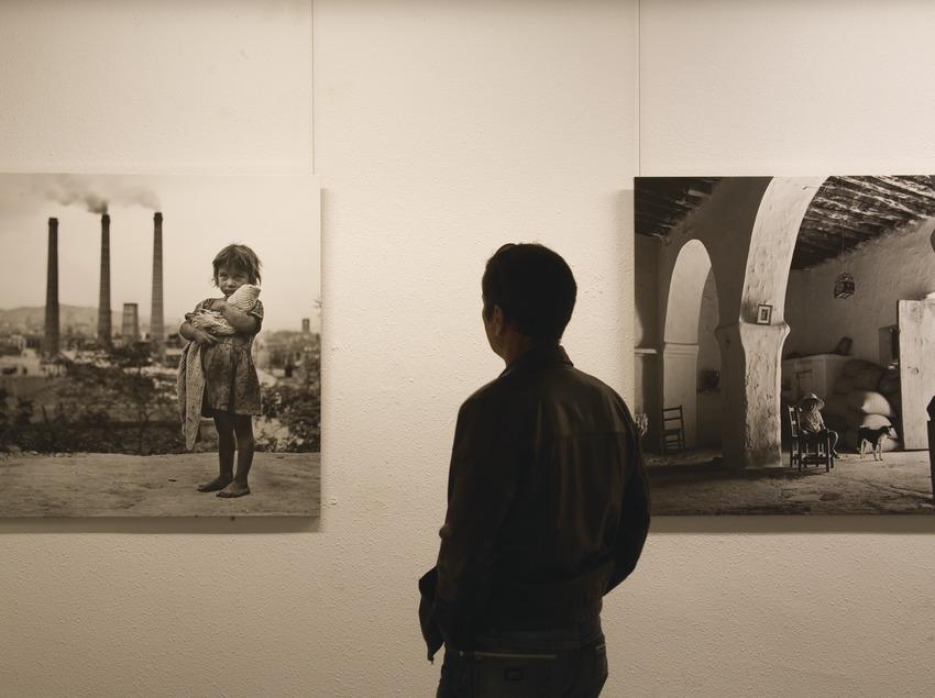 Secció de fotografia Català-Roca al Museu de la localitat  (Miguel Raurich)