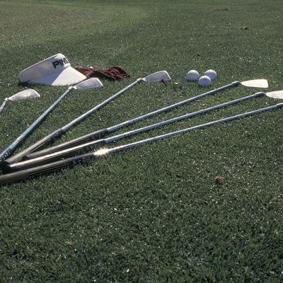 Juego de palos de golf