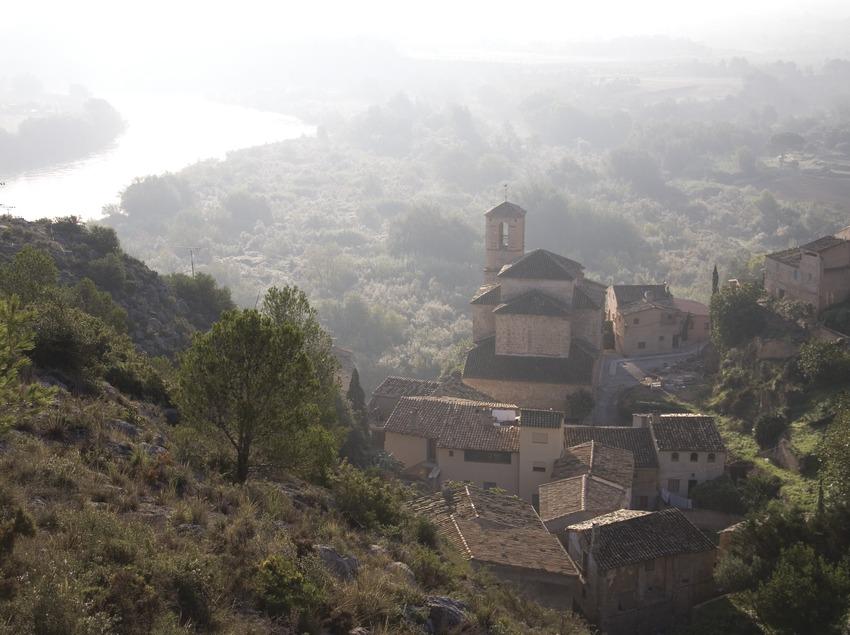 Die Altstadt und der Ebro