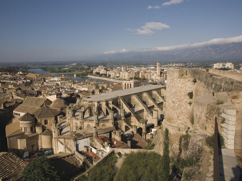 La Seu and the old quarter from the La Suda Castle  (Miguel Raurich)