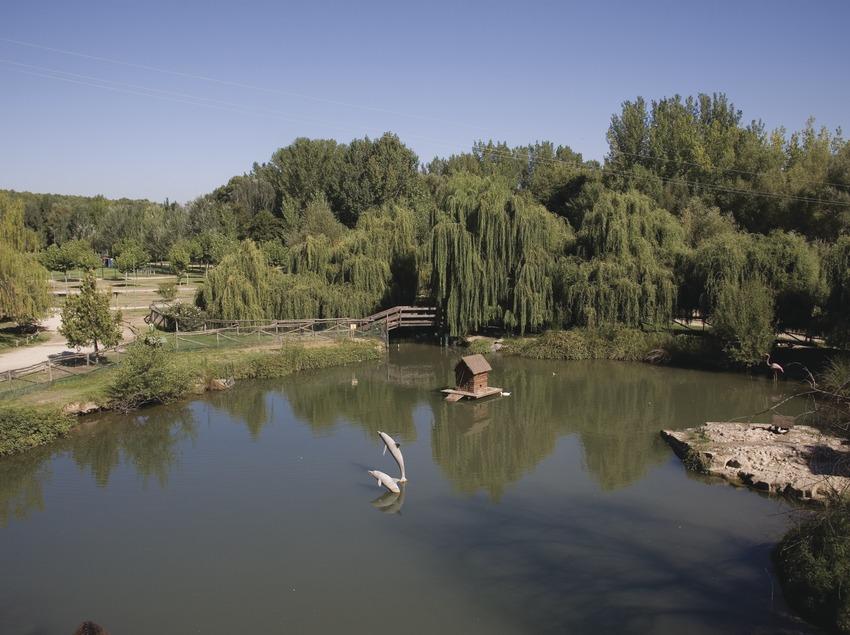 Parc de le la rivière au bord de la Noguera Ribagorçana  (Miguel Raurich)