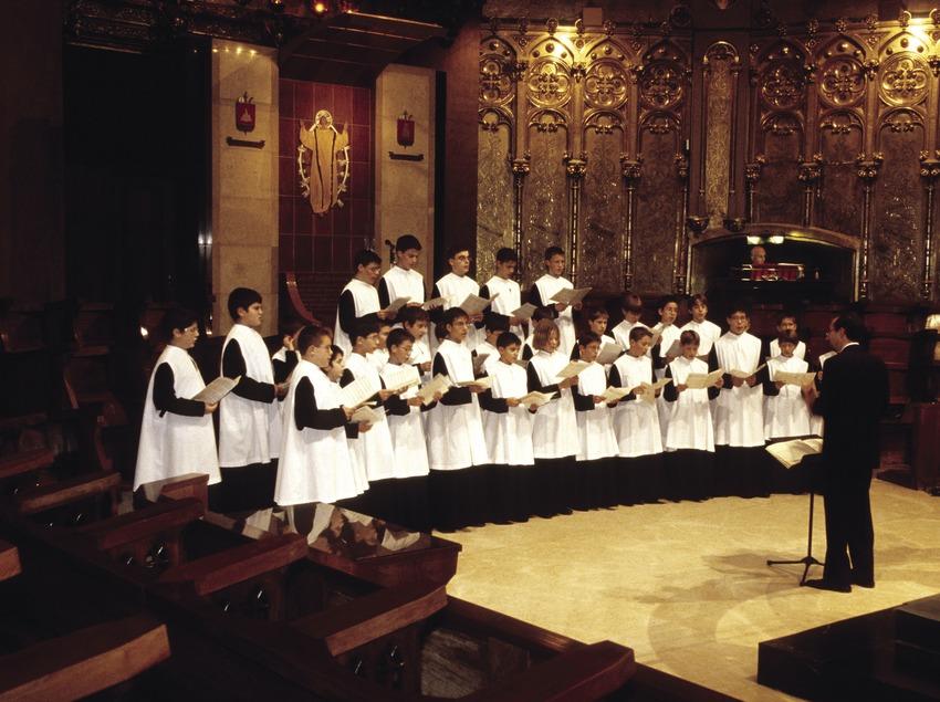 Montserrat. Cor infantil de l'Escolania de Montserrat