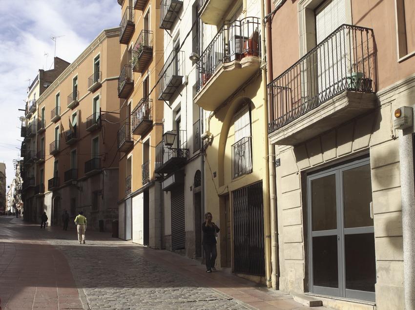 Die Straße Cavallers in der Altstadt.  (Miguel Raurich)