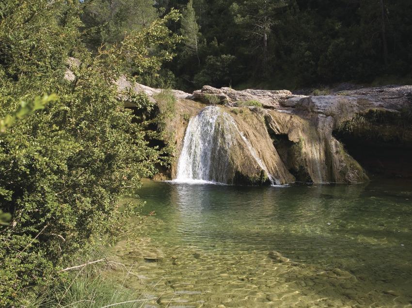 Terres de l'Ebre. Imatge del Toll del Vidre, al Parc Natural dels Ports de Tortosa-Beseit