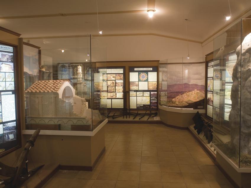 Sala de arte romano en el Museu de la Vila  (Miguel Raurich)