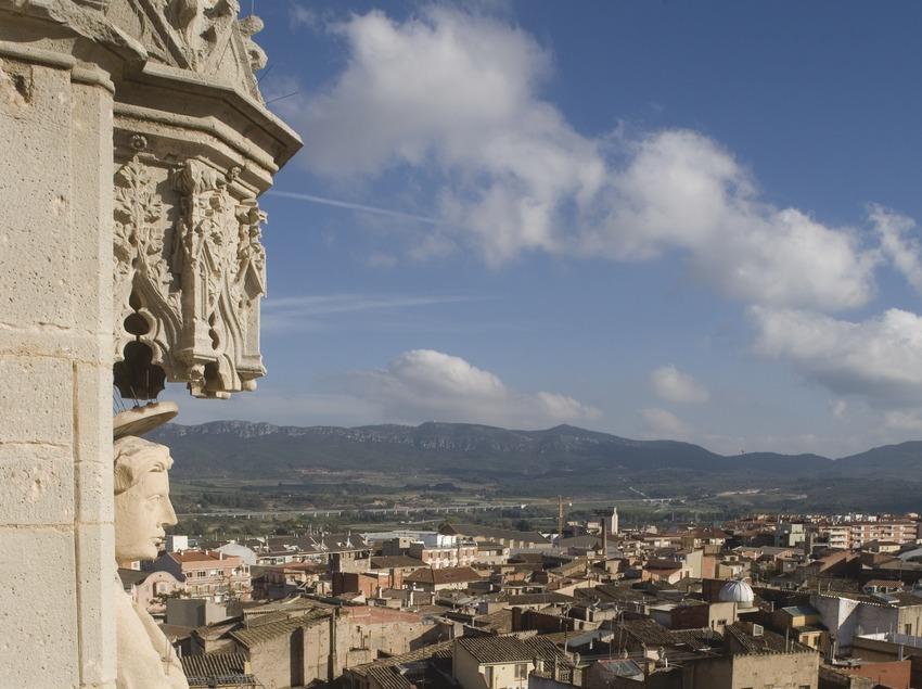 Blick auf den Ort vom Glockenturm der Kirche Santa Maria  (Miguel Raurich)