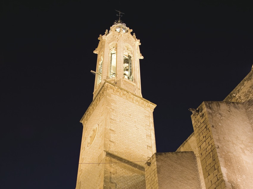 Bell tower of the church of Sant Joan.  (Miguel Raurich)