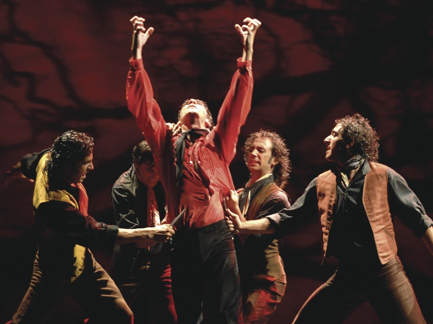 Festival Internacional de Música Castell de Peralada. Ballet flamenco.   (Castell de Peralada)