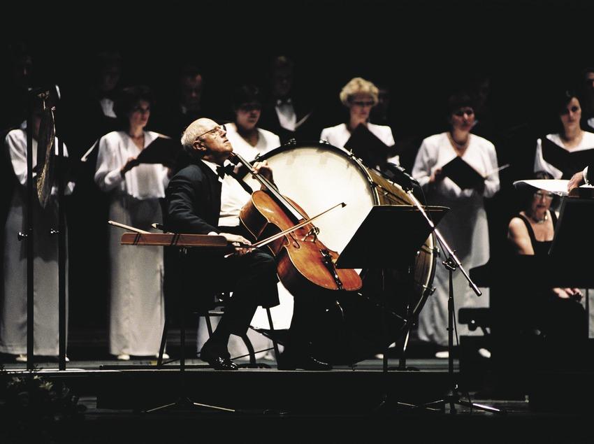 Internacional Music Festival Castell de Peralada. Mstislav Leopoldovich Rostropovich.   (Castell de Peralada)