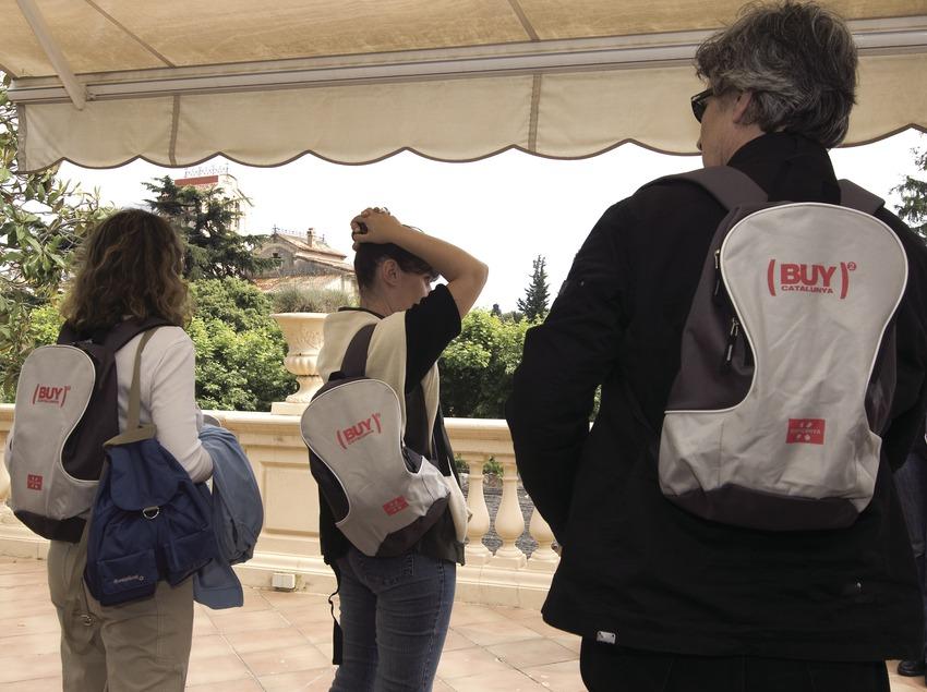 Fam trip de enogastronomía y wellness. Buy Catalunya 2008 (Garkin Servicios Profesionales, SL / Chopo)