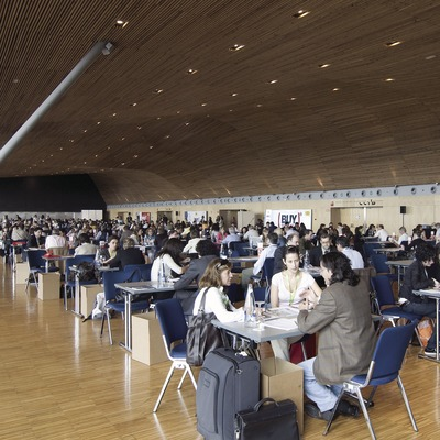 Hall at the 2008 Buy Catalunya Workshop held at the Barcelona International Convention Centre (BICC) (Garkin Servicios Profesionales, SL / Chopo)
