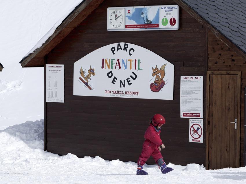 Área infantil de la estación de esquí de Boí-Taüll (Nano Canas)