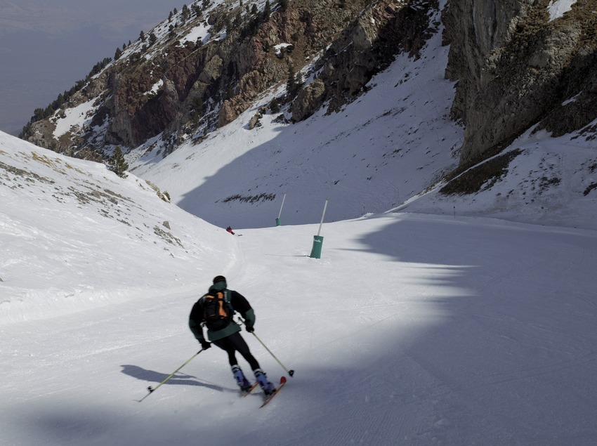 Descente à la station de ski de Masella (Nano Canas)