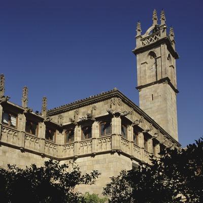 Pati dels Tarongers. Palau de la Generalitat (Imagen M.A.S.)