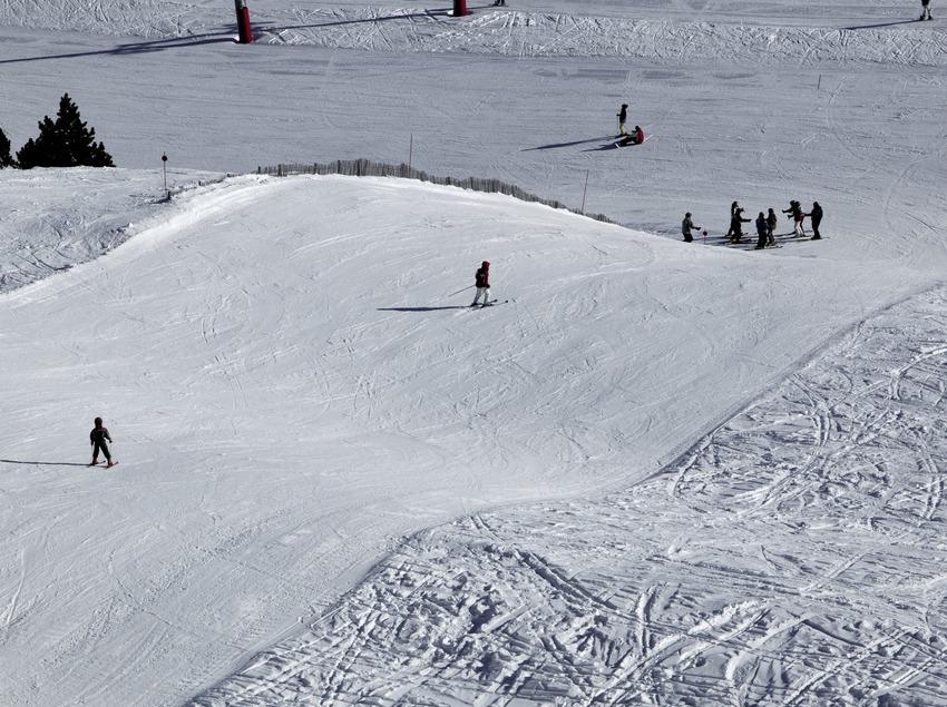 Pista de esquí de la estación de Port Ainé
