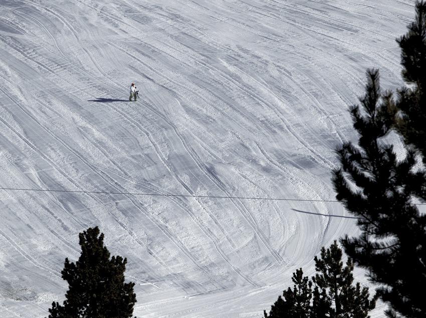 Piste de la station de ski de Spot Esquí (Nano Canas)
