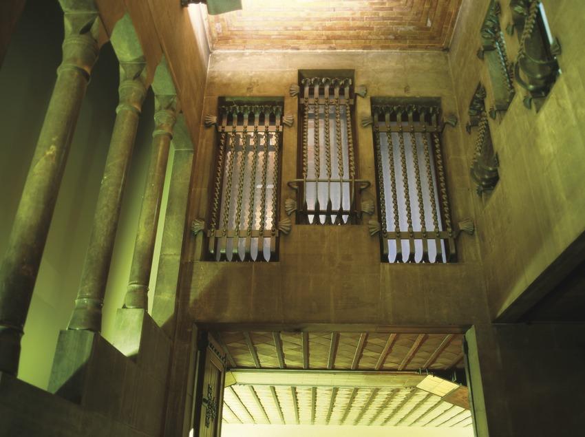 Patio interior del Palau Güell  (Imagen M.A.S.)