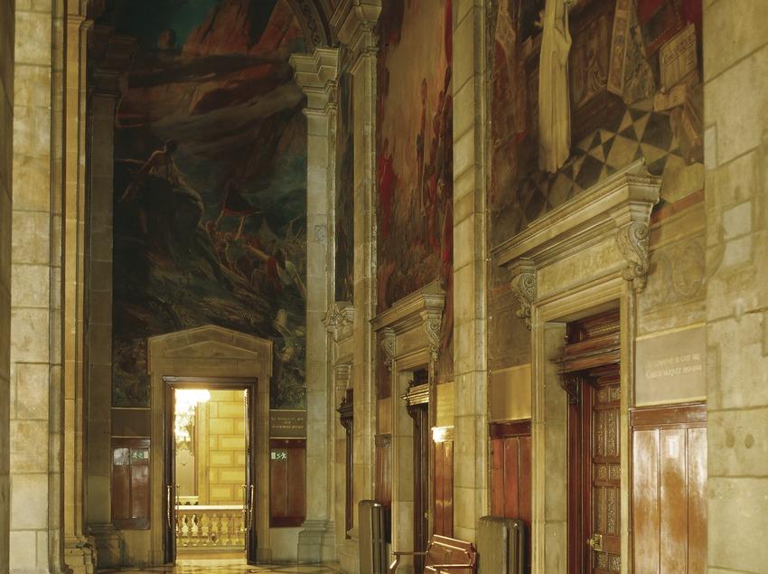 Salón de Sant Jordi del Palau de la Generalitat (Imagen M.A.S.)
